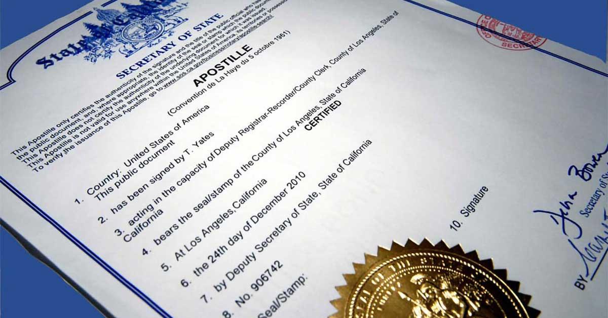 Cos'è la legalizzazione dei documenti stranieri